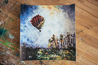 Obrazy - Letíme! 40x40, plagát - 7748143_