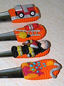 Pomôcky - Príbor pre hasiča - 7744953_
