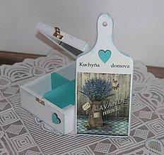 Krabičky - čajovka + lopárik - 7745778_