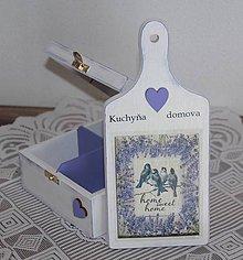 Krabičky - čajovka + lopárik - 7745951_