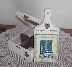 Krabičky - čajovka + lopárik - 7746008_
