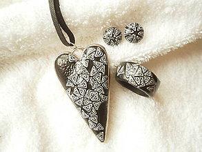 Sady šperkov - Sada z polyméru, ostré špirálky - 7745285_