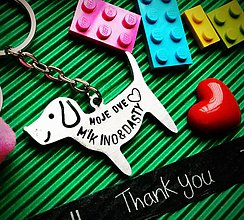 Kľúčenky - PUPPY LOVE :) - 7754223_