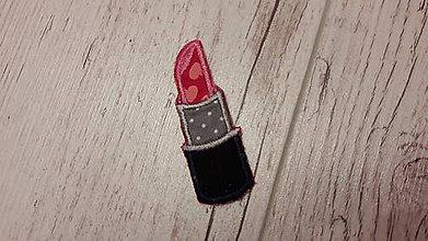 Drobnosti - rúž - nažehľovačka - 7754050_