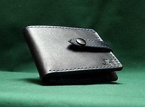 Peňaženky - Peněženka, ručně šitá,kožená - 7751492_