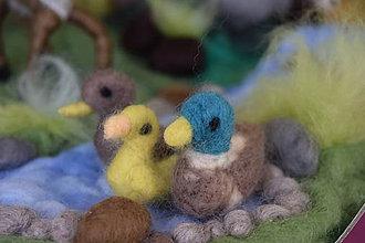 Hračky - Divé kačky- rodinka 3ks - 7751688_