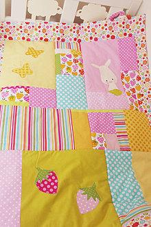Textil - Deka do detskej postieľky - 7753938_