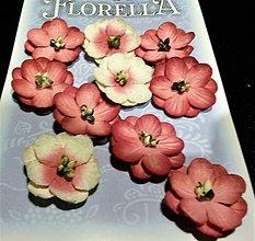 Polotovary - Florella - dekoračné kvety - hortensie - 7749626_