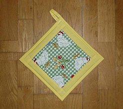 Úžitkový textil - Chňapka veľkonočná - tri varianty (1) - 7752627_