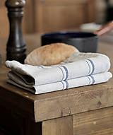 - Set - ľanovo-bavlnené utierky do vidieckej kuchyne - 7750265_