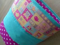 Textil - Látkový, úložný kôš na hračky.. - 7724476_