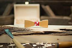 Doplnky - Drevený  motýlik - PICASSO 1 - 7753095_