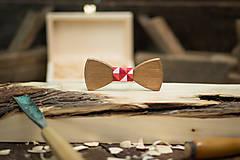 Doplnky - Drevený motýlik - PICASSO 5 - 7753112_