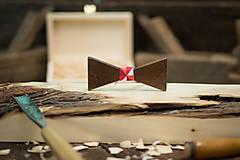 Doplnky - Drevený motýlik - PICASSO 6 - 7753129_