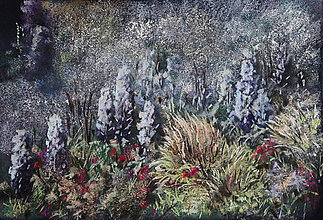 Obrazy - Letná záhrada - 7749935_