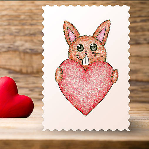 Kreslene Srdce Zajacik Relevator Sashe Sk Handmade Papiernictvo