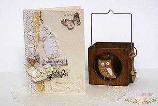 Papiernictvo - Scrapbooková pohľadnica XXVII - 7758834_