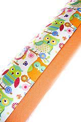 Úžitkový textil - _HAJA & FaReBNé SoVKy z Francúzska a MiNiBodka... 170 cm - 7755515_