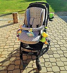 Detské súpravy - Súprava do PEG PÉREGO (podložka s bočnicami) - 7755425_