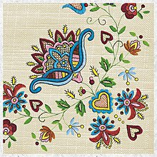 Papier - Servírka folk - 7758547_