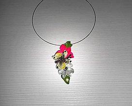 Náhrdelníky - náhrdelník butterfly 5 - 7757920_