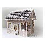 - Výrez Veľký dom na zloženie - 7758617_