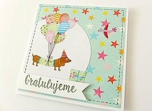 Papiernictvo - pohľadnica k narodeninám - 7755246_