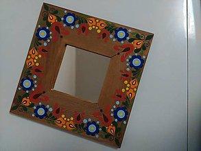 Zrkadlá - Na zrkadle maľované - 7757738_