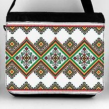 Iné tašky - Taška na plece XL s potlačou výšivky 16 - 7758489_