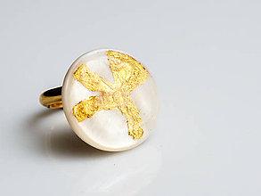 Prstene - Prsteň ..Kvietok - 7758696_