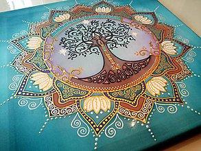 Obrazy - Mandala Stromu života - 7754453_