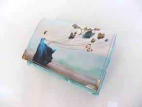 Peňaženky - S mořským vánkem - peněženka i na karty - 7757611_