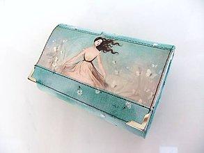 Peňaženky - Tančím mezi motýly - 14 cm na spoustu karet - 7757630_