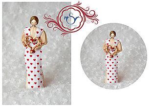 Darčeky pre svadobčanov - Valentínska Valentínka - 7755221_