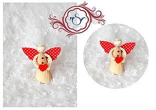 Drobnosti - Valentínsky anjelík - 7755224_