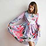 - Hodvábne kvetovane šaty vol. 2 - 7758244_