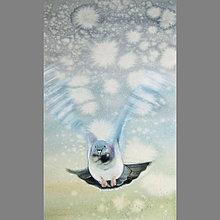 Obrazy - Úlet - originál, akvarel a kvaš - 7756405_