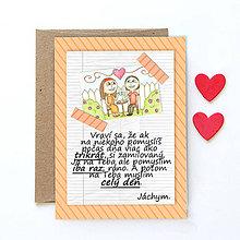 Grafika - Na kávičke (valentínka s textom)  (34) - 7758100_
