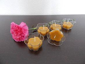 Darčeky pre svadobčanov - Sviečky z včelieho vosku - 7760976_