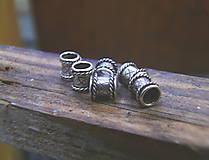 Iné šperky - Strieborné korálky života - 7762892_