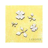 - Výrez Jar prichádza - kvety a listy - malý list - 7762112_