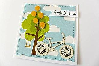 Papiernictvo - pohľadnica k narodeninám - 7759410_