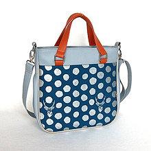 Veľké tašky - Big Sandy - Šedá s jeleňmi (metalický vzor) - 7759074_