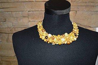 Náhrdelníky - náhrdelník v ZLATE - 7759900_