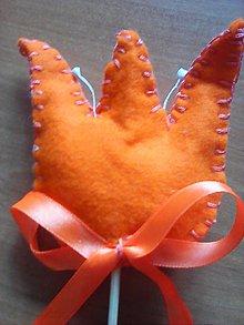 Dekorácie - tulipán -zápich - 7759084_