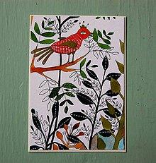 Papiernictvo - pohľadnica rastliny... - 7761512_