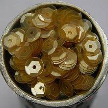 Korálky - Flitre lomené oranžové 7mm - 7761977_