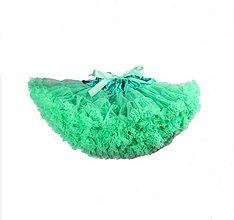 Sukne - Dolly suknička zelená - 7759269_