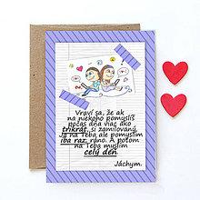 Grafika - Na kávičke (valentínka s textom)  (32) - 7760833_
