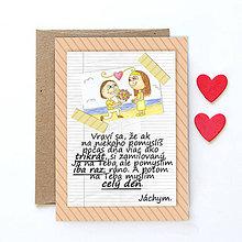Grafika - Na kávičke (valentínka s textom)  (31) - 7761522_
